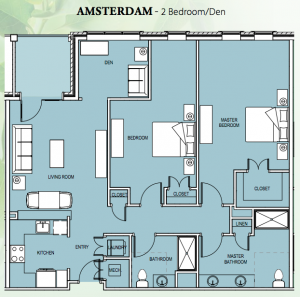 Amsterdam Floor Plan
