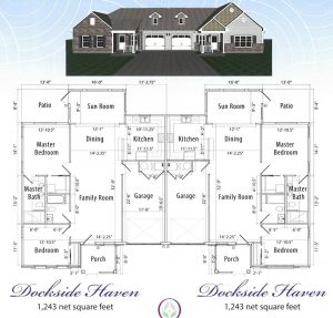 Dockside Haven Waterfront Homes