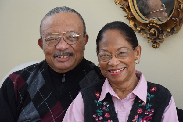 senior couple looking for quality care