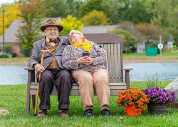 active pemberville residents enjoying the beautiful outdoor areas
